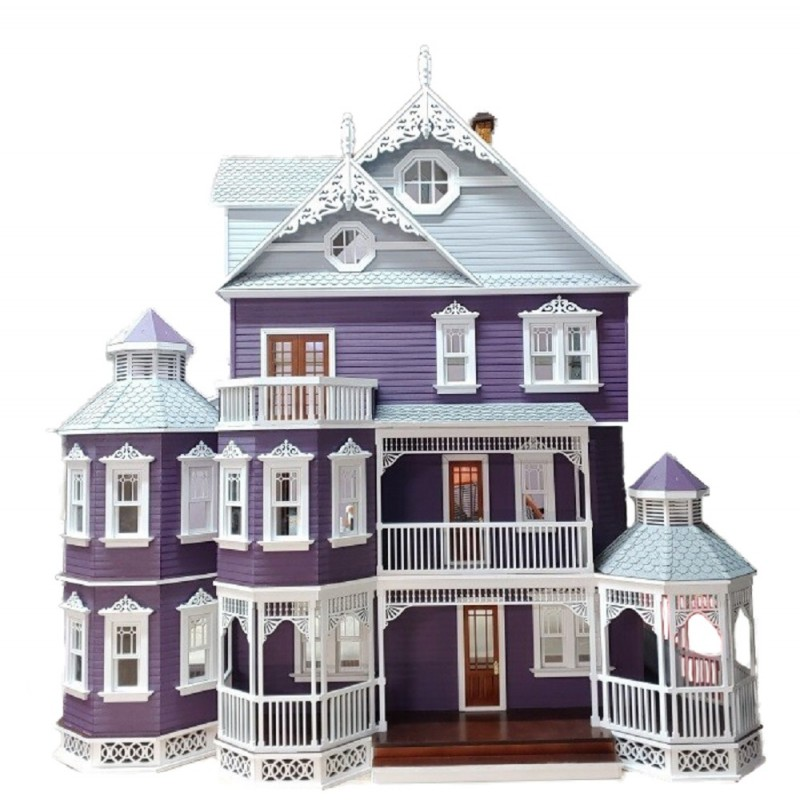 Ashley Gothic Victorian Dolls House 1:12 Scale Laser Cut Flat Pack Kit