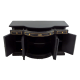 Dolls House Black Chinese Credenza Sideboard Handpainted Miniature Furniture