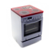 Dolls House Modern Silver Cooker Stove Small Miniature Kitchen Furniture