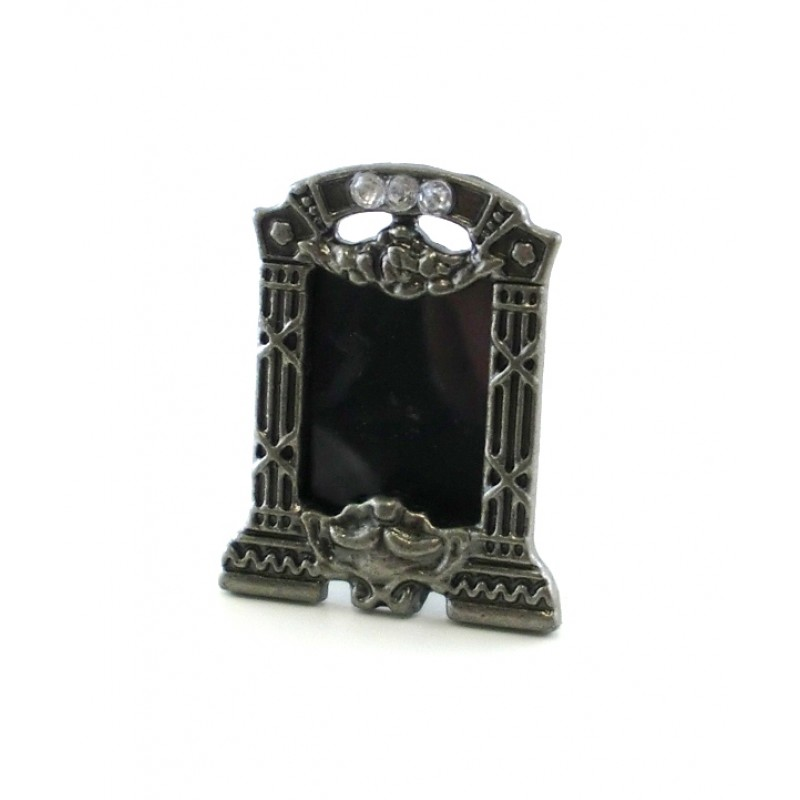 Dolls House Miniature Accessory Ornament Marcasite Photo Picture Frame
