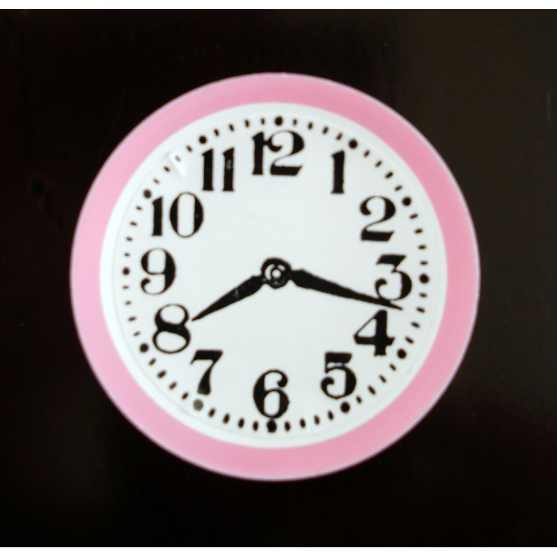 Dolls House Miniature Accessory Kitchen Wall Clock PK45