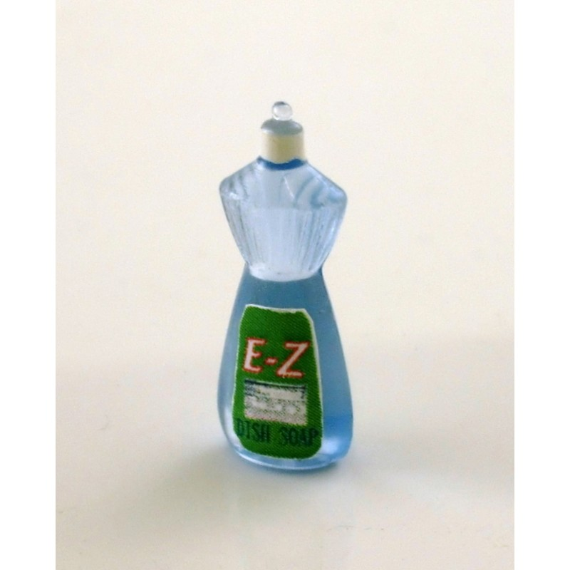 Dolls House Miniature 1:12 Scale Shop Kitchen Accessory Washing Up Liquid
