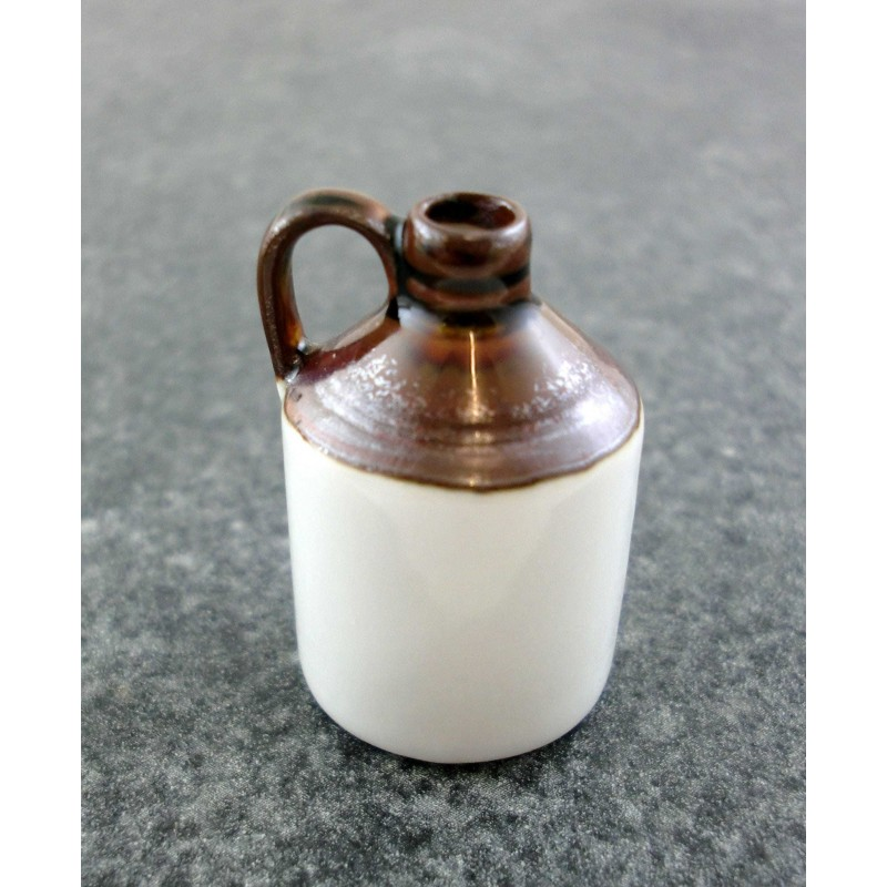 Dolls House Falcon Miniature Old Fashioned Bar Pub Accessory Stone Wine Jug