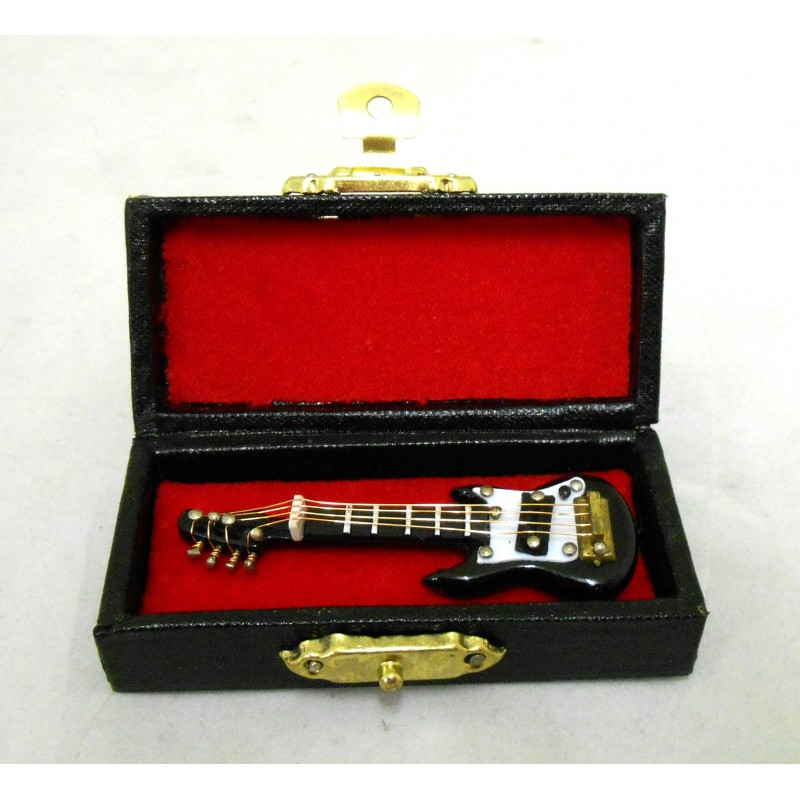 New Dolls House Miniature 1:16 Scale Music Room Accessory Electric Guitar