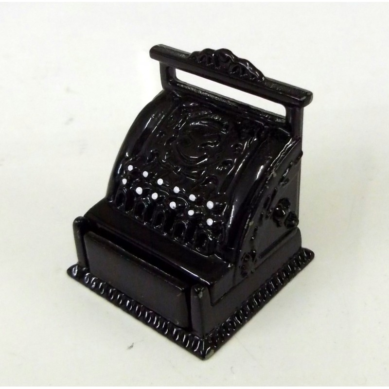 Dolls House Miniature Shop Pub Bar Cafe Accessory Victorian Cash Register Till