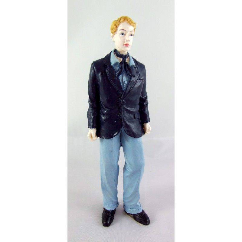 Dolls House Miniature 1:12 Scale Resin People 1950's Fashionable Young Man