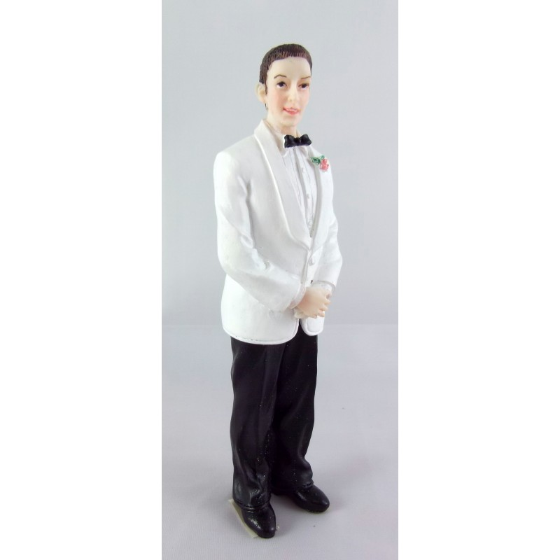 Dolls House Miniature 1:12 Scale Resin People Man in Wedding Suit Groom 8239