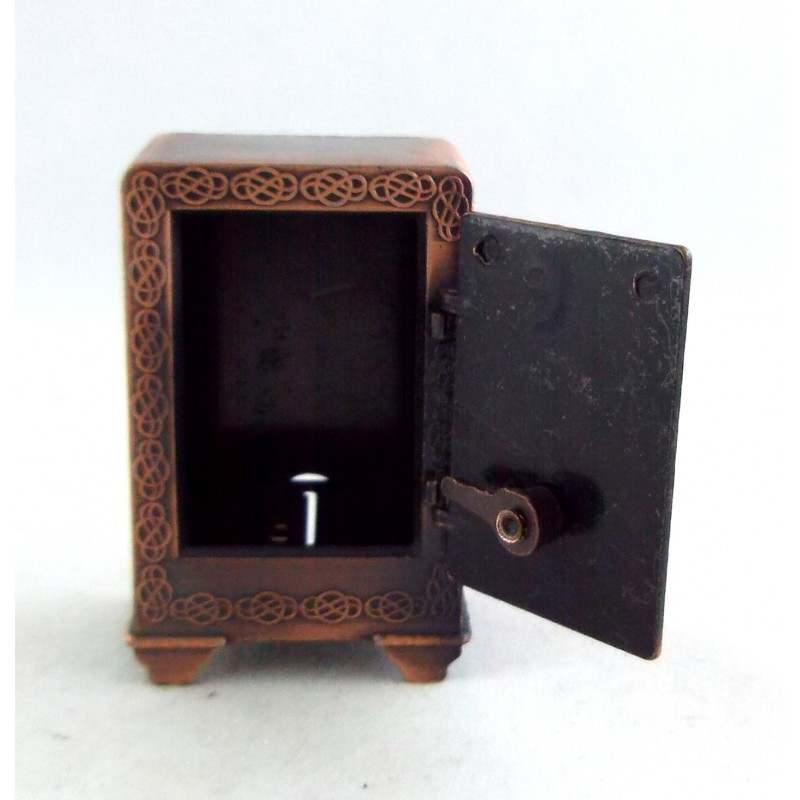 Dolls House Miniature Shop Store Pub Bar Accessory 1:12 Old Fashioned Bank Safe