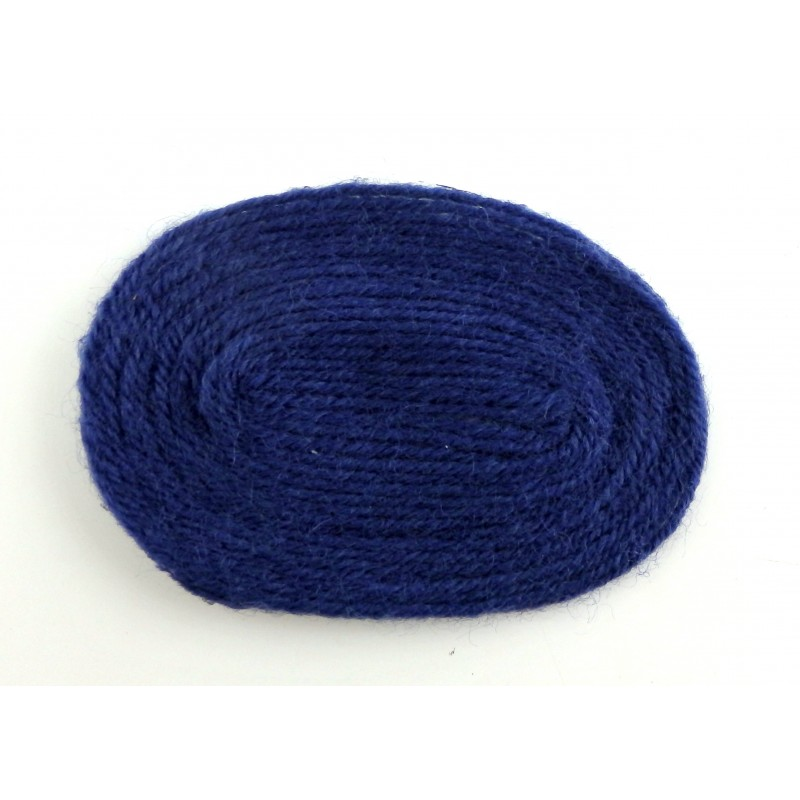 Dolls House Miniature 1:12 Scale Accessory Plain Navy Blue Small Oval Rug