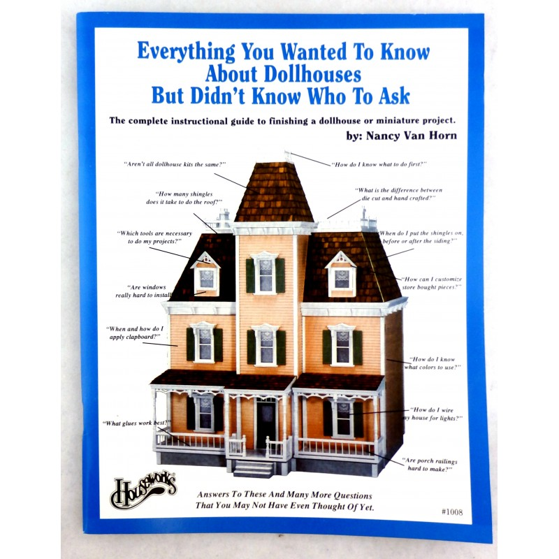 "Everything You Wanted to Know About Dolls Houses ""Tricks of the Trade"" Booklet"
