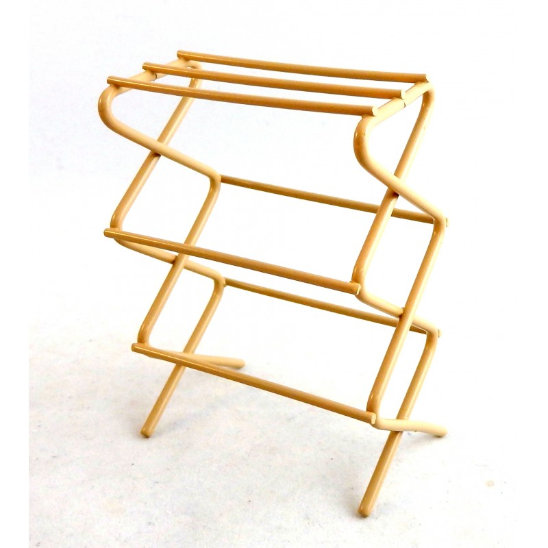 Dolls House Miniature Kitchen Laundry Accessory Clothes Drying Rack Rail Airer