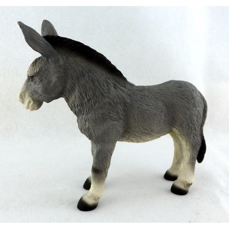 Dolls House Grey Donkey Falcon Miniature Farm Yard Beach Accessory Animal