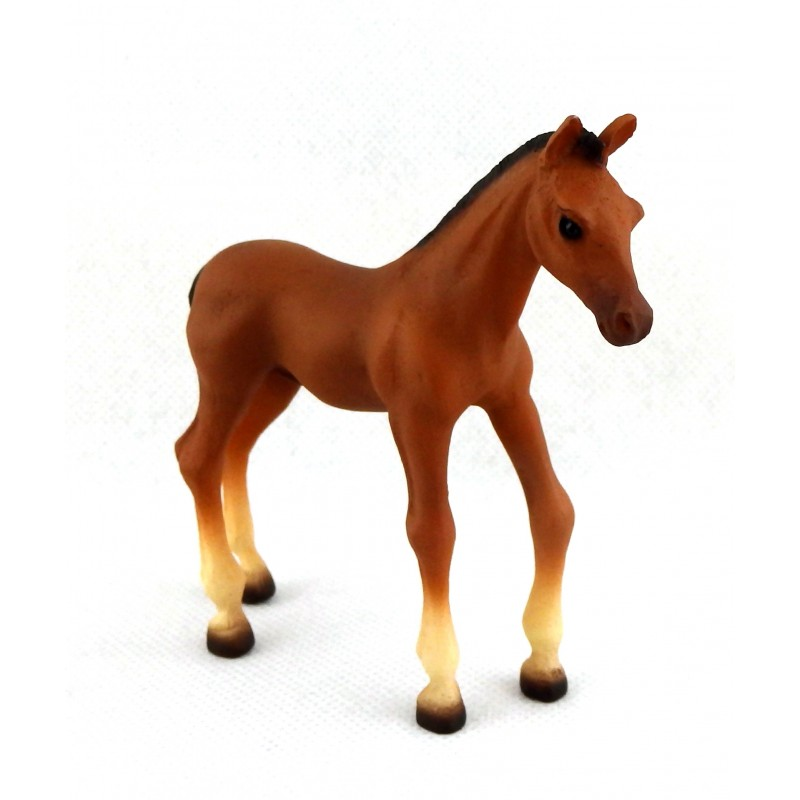 Dolls House Foal Pony Falcon Miniature Stable Farm Animal Young Horse 1:12