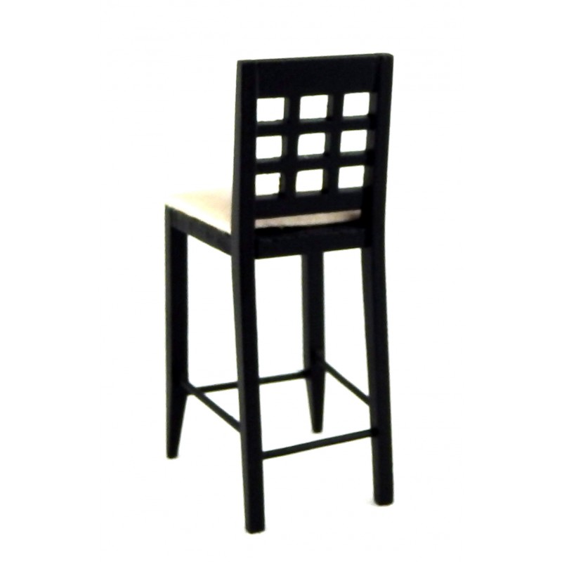DOLLHOUSE WICKER BAR STOOL Town Square Miniatures