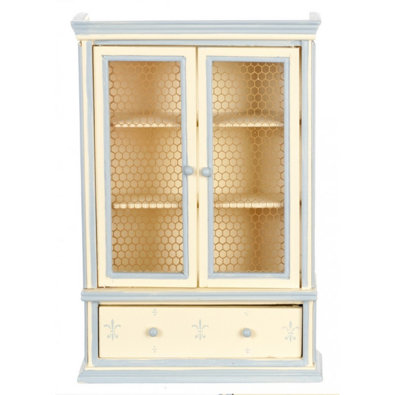 Dolls House Blue Cream Dresser Miniature Shabby Chic Dining Room Furniture