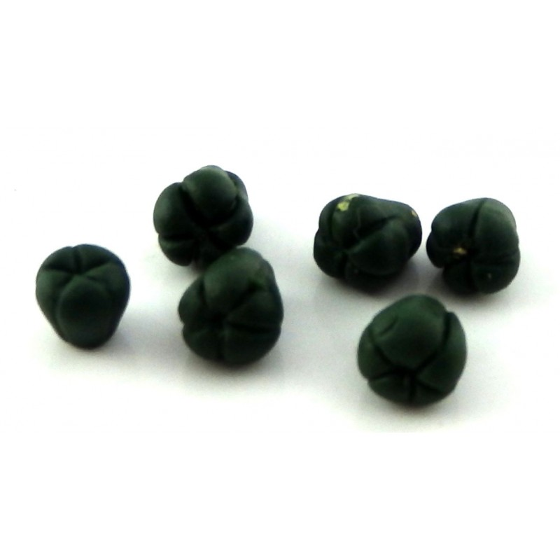 Dolls House Green Sweet Peppers Miniature Kitchen Garden Greengrocers Accessory