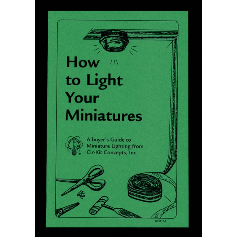 Dolls House DIY Cir-Kit How to Light your Minaitures Instruction Booklet