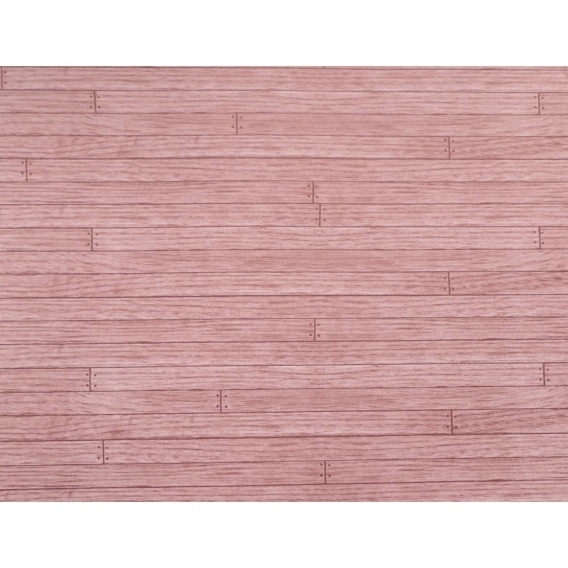 Dolls House Medium Oak Miniature 1:12 Wooden Floorboards Effect Paper Flooring