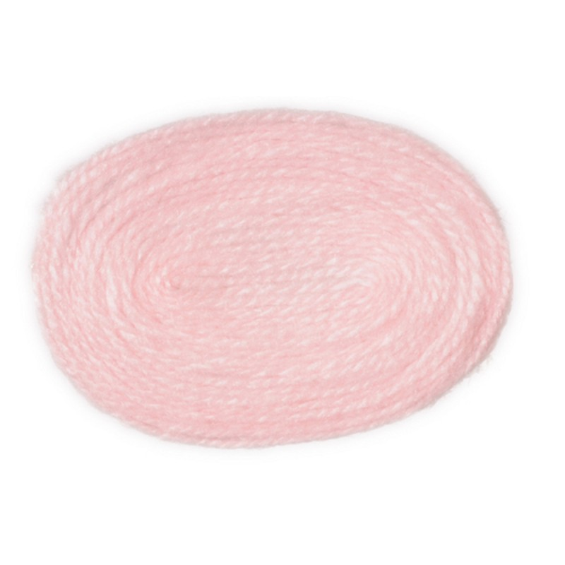 Dolls House Miniature 1:12 Scale Accessory Plain Baby Pink Small Oval Rug