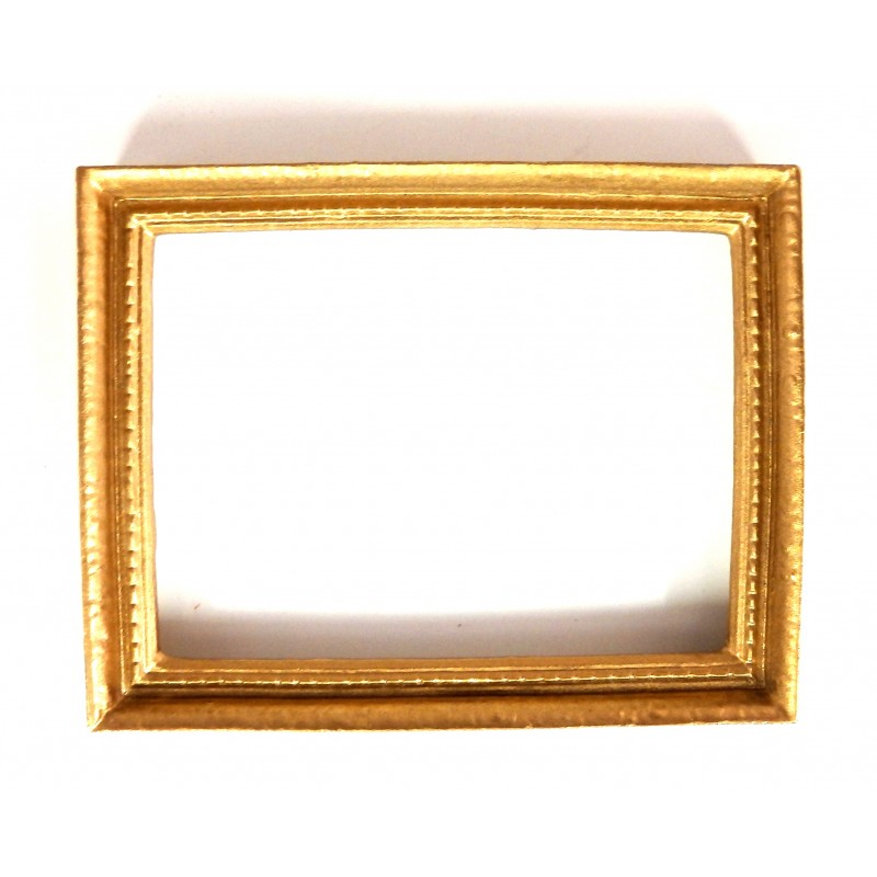 Dolls House Accessory Empty Gold Picture Painting Frame Lge