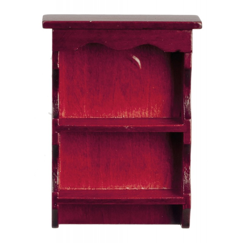 Dolls House Mahogany Sweetheart Country Wall Shelf