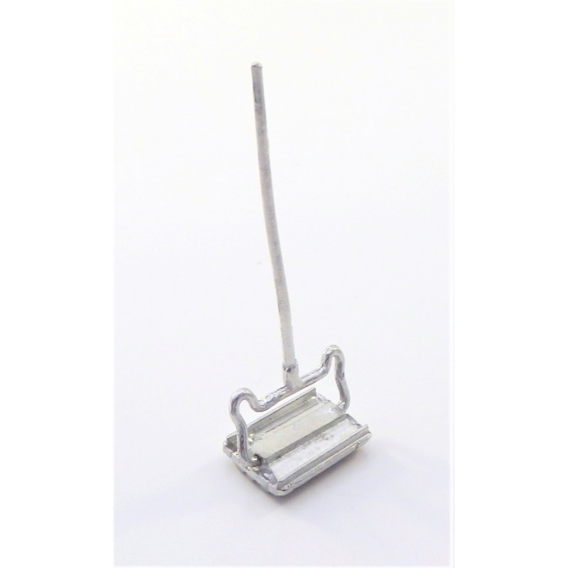 Dolls House Pewter Carpet Sweeper 1:24 Scale Miniature Accessory