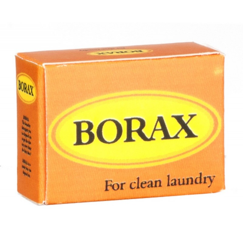 Dolls House Borax Box Miniature Washing Laundry Shop Accessory