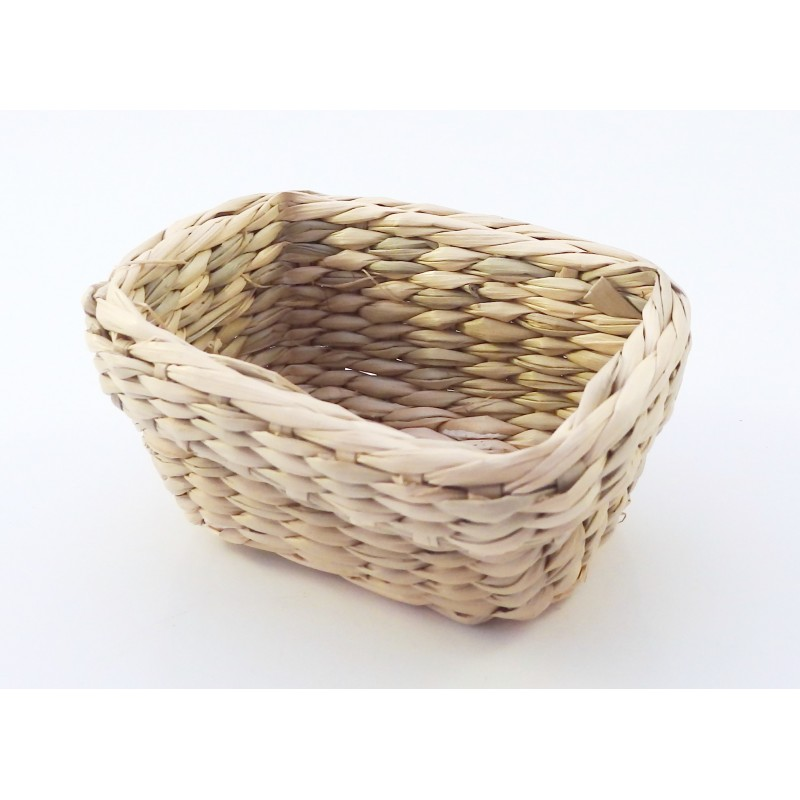 Dolls House Empty Wicker Storage Basket Large Miniature Accessory