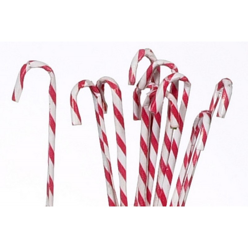 Dolls House Candy Canes Christmas Tree Decoration Xmas