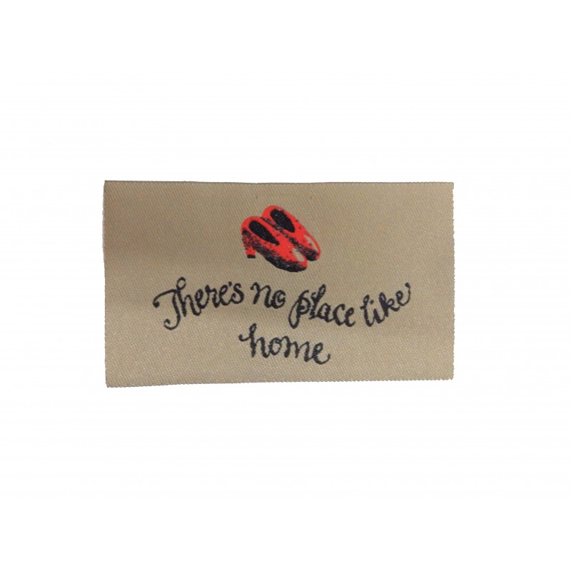 Dolls House There's No Place Like Home Miniature Door Mat Rug