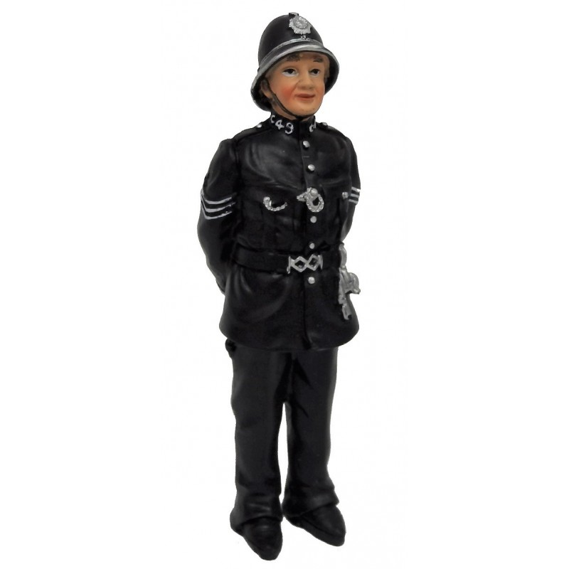 Dolls House Mature Policeman 1:12 Scale People Resin Figure
