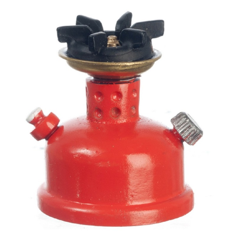 Dolls House Camping Stove Gas Hob Burner Miniature 1:12 Accessory