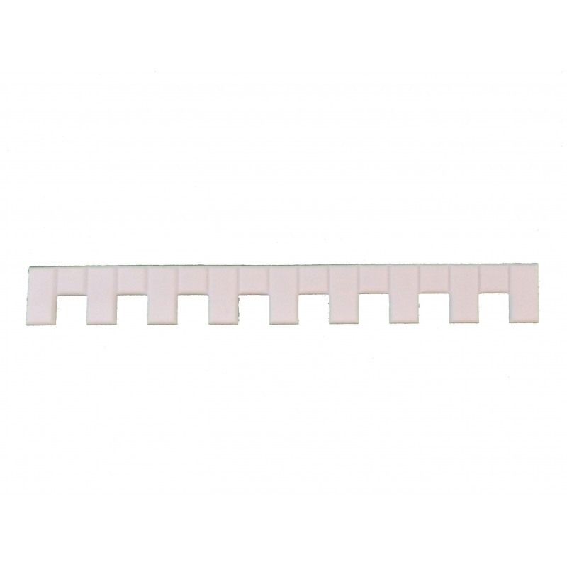 Dolls House White Plastic Quoins 1:24 Decorative Trim Builders DIY