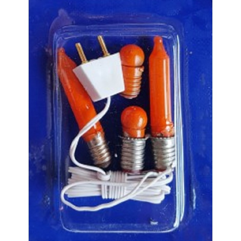 Dolls House 12V Flicker Flame Bulb Unit for Miniature Fires