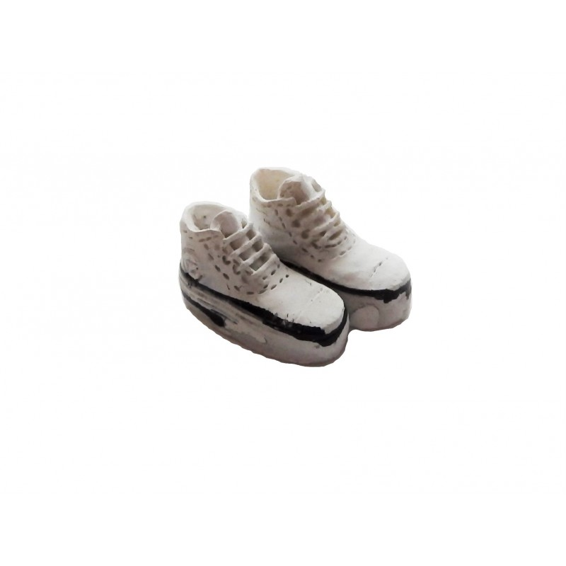 Dolls House Resin Baseball Boots Miniature Shoes Bedroom Accessory