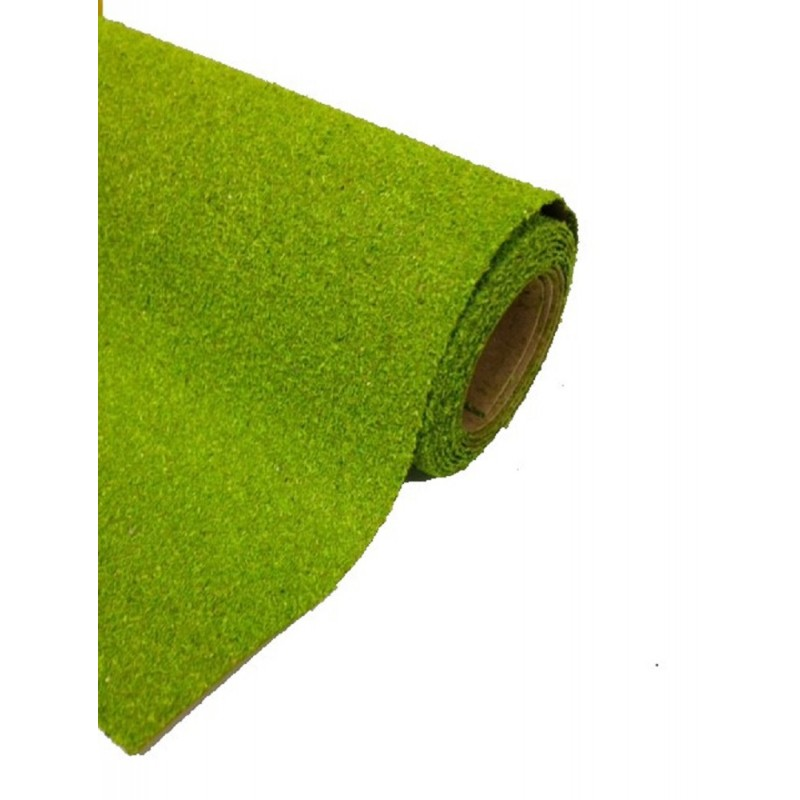 Dolls House Light Green Grass Lawn Garden Landscape Mat Large