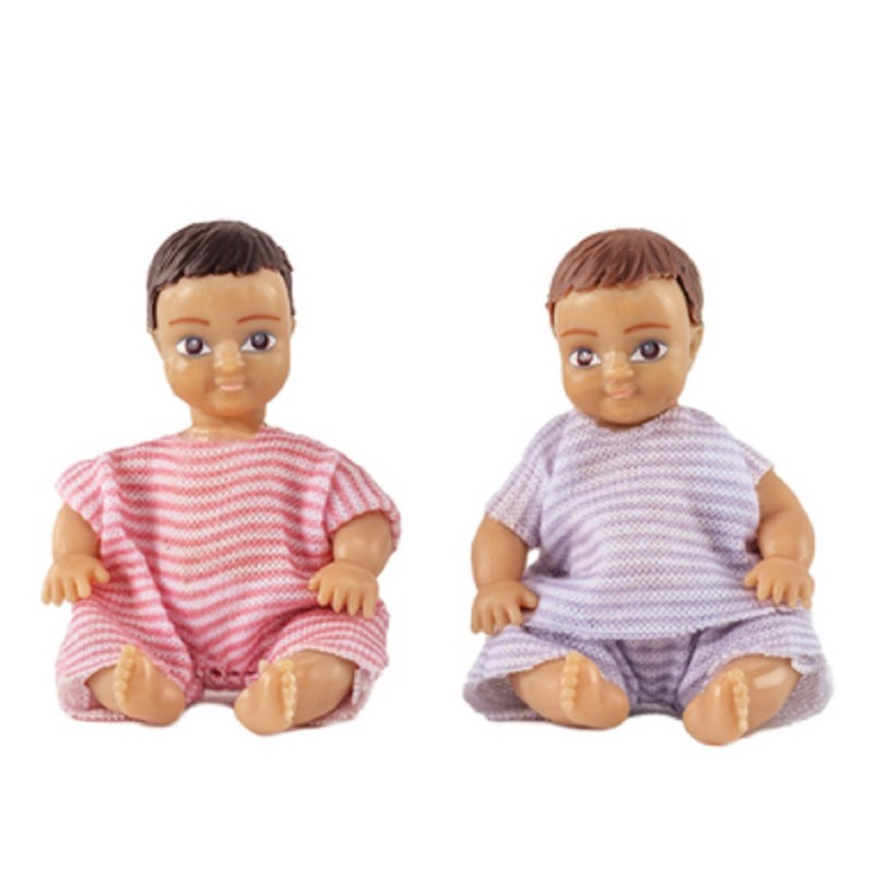 Dolls House Lundby Modern People 2 Babies
