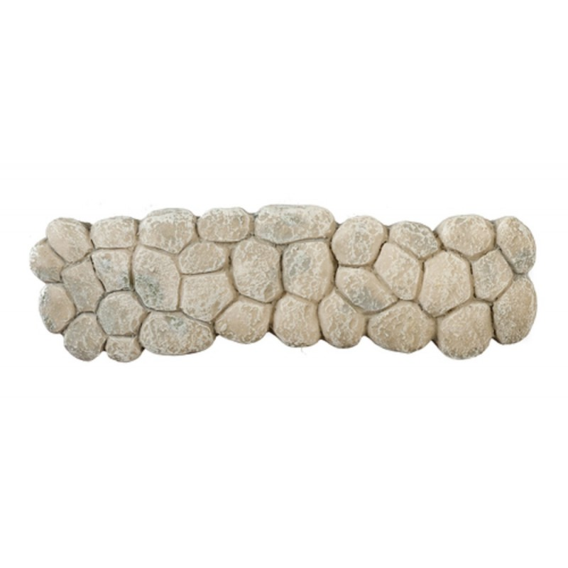 Dolls House Large Cobbled Pathway Grey Stone Garden Accessory 1:12