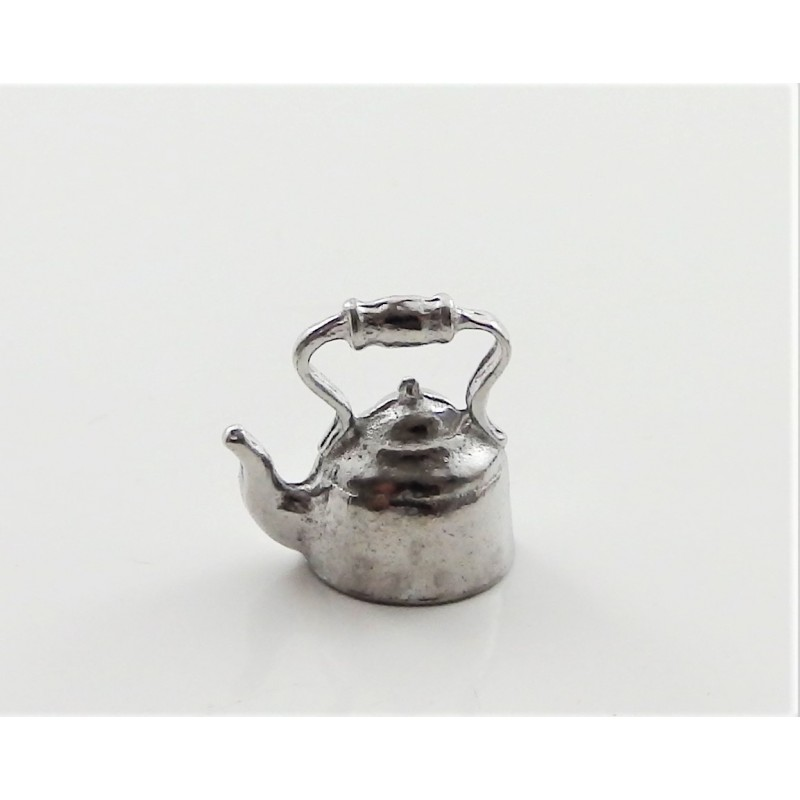 Dolls House Kettle Metal 1:24 Scale Miniature Kitchen Accessory