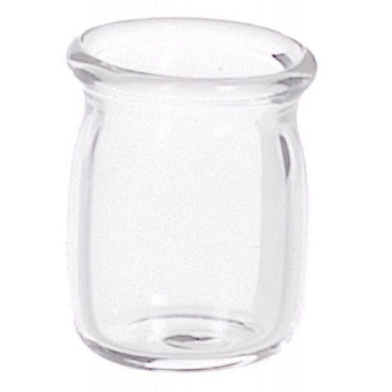 New Dolls House Miniature Shop Cafe Kitchen Accessory Empty Glass Jar