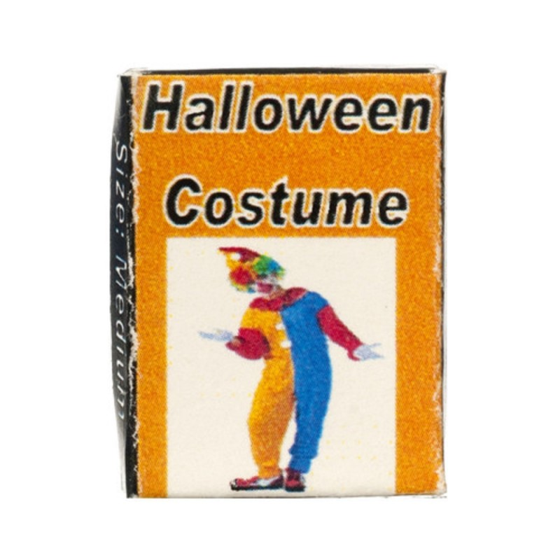 Dolls House Clown Costume Box Halloween Party Fancy Dress Shop Accessory