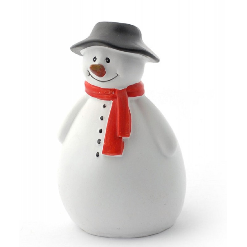 Dolls House Snow Man 1:12 Christmas Garden Accessory Snowman