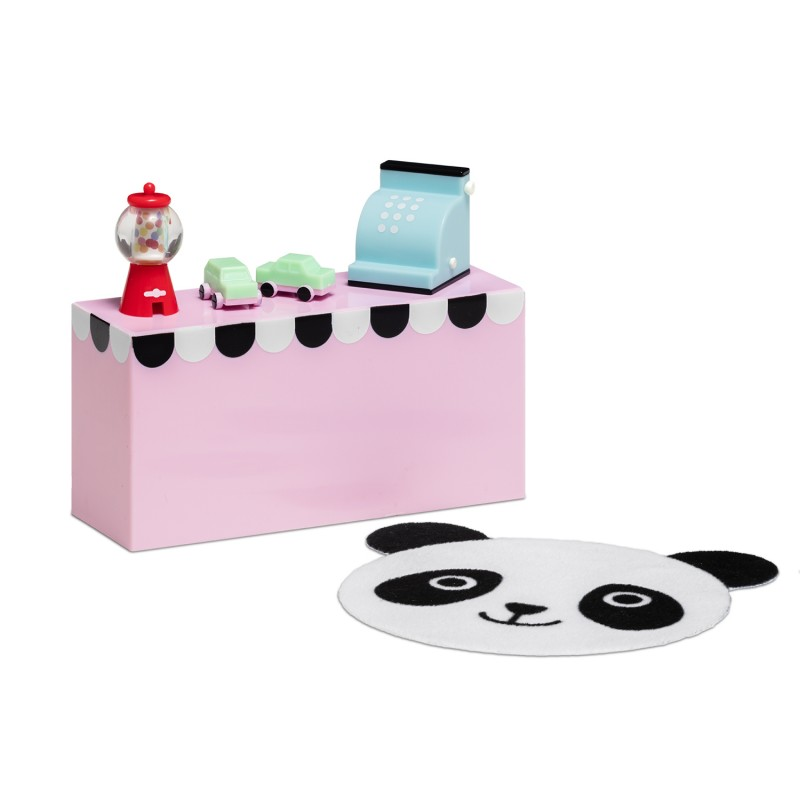 Lundby Dolls House Modern Shop Counter & Accessories