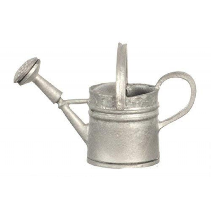 Dolls House Miniature Garden Accessory Metal Tin Watering Can