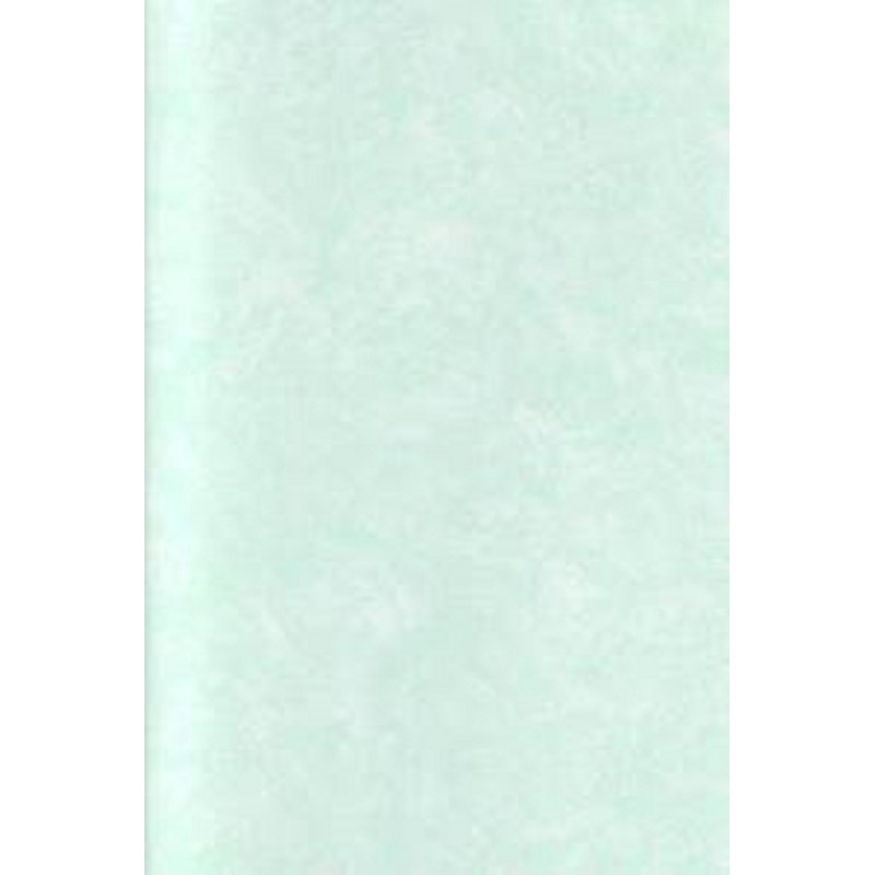 Dolls House Pale Green Clouds Paint Effect Miniature 1:12 Wallpaper 3 Sheets