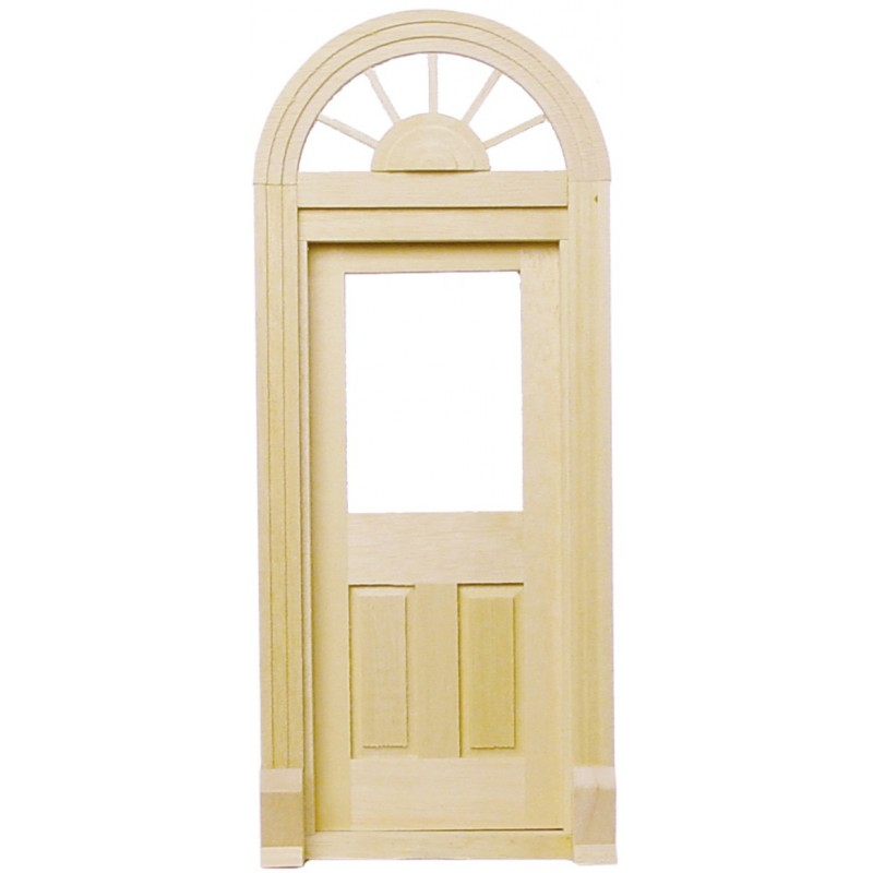 Dolls House Miniature 1/12 Elegant Palladian Door 6015