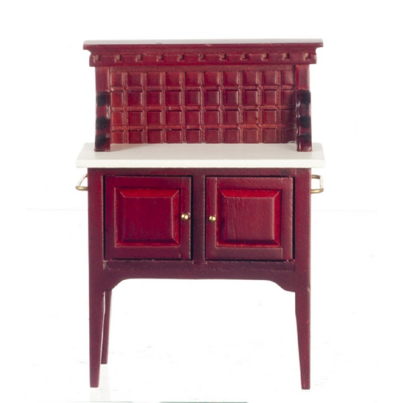 Dolls House Miniature Bedroom Furniture Victorian Mahogany Wash Stand