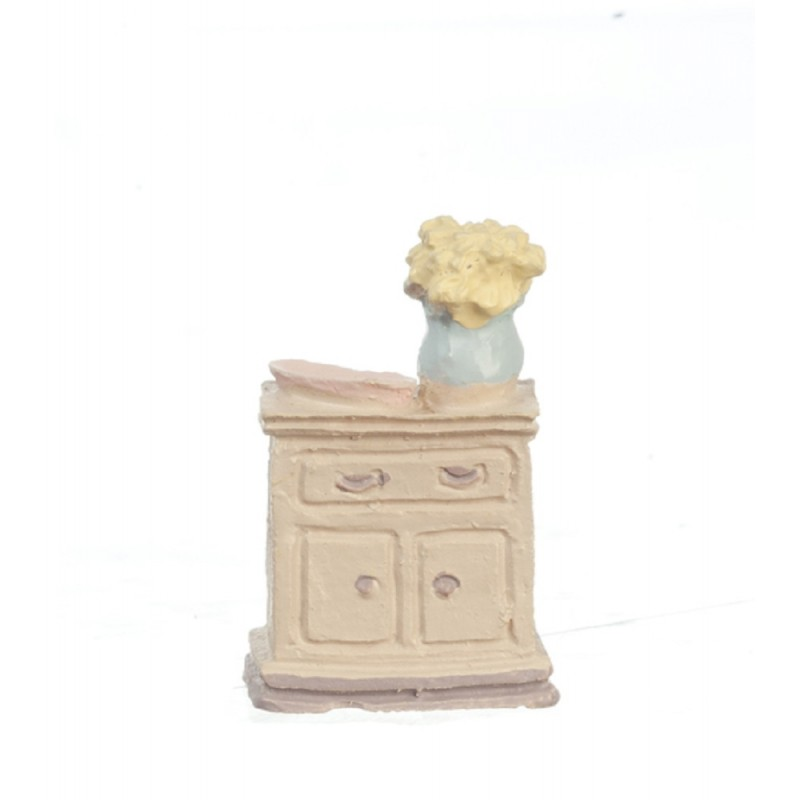 Dolls House Washstand 1:48 Scale 1/4 inch Mini Bedroom Miniature Furniture