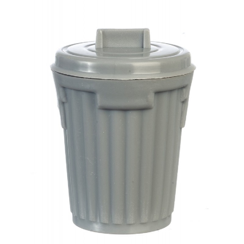 Dolls House Dustbin Bin Trash Can Miniature Garage Shop Garden Accessory