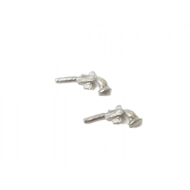 Dolls House Pair of Dueling Pistols Miniature 1:24 Scale Accessory